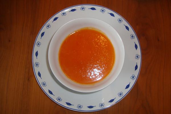 zoete tomatensoep met appel maya