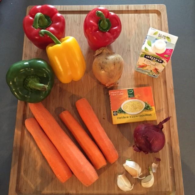 paprika wortel soep recept