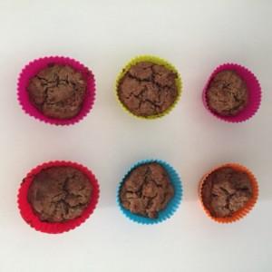 Muffins met vijgen en rozijnen