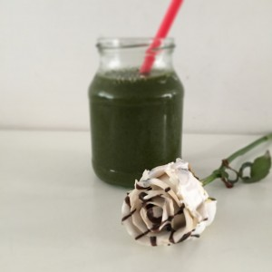 smoothie kers avocado spinazie