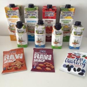 Sappen en snacks van Healthy People