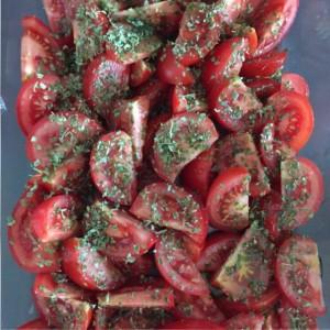 pastasaus gegrilde tomaat
