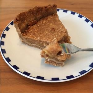 appel peren taart zonder geraffineerde suiker