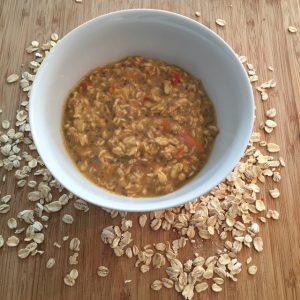 overnight oats pompoen